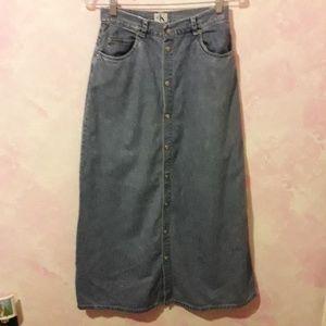 Vintage 1980's Calvin Klein Skirt
